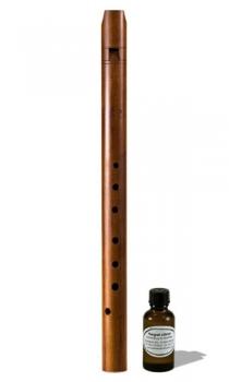 Altblockflöte (g)<br>Margret Löbner<br>Modell Mittelalter<br>442 Hz, Ahorn/Pflaume