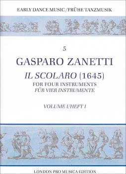 Zanetti, Gasparo - Il scolaro  - Vol.1  SATB