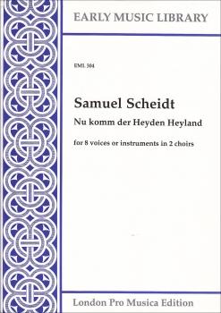 Scheidt, Samuel - Nu komm der Heyden Heyland - 2 Blockflötenquartette  SSAT+SATB