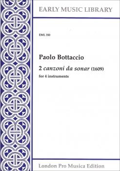 Bottacio, Paolo - 2 Canzoni da sonar  - SATB