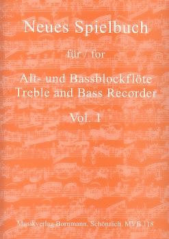 Neues Spielbuch für Alt- und Bassblockflöte - Vol. 1