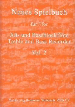 Bornmann, Johannes (Hrg.) - Neues Spielbuch Vol. 2- treble and bass recorder