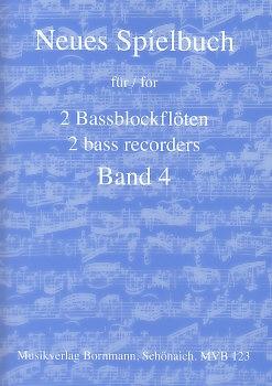 Bornmann, Johannes (Hrg.) - Neues Spielbuch 4 - 2 Bassblockflöten