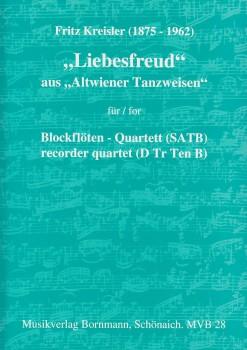 Kreisler, Fritz - Liebesfreud - SATB