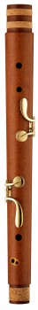bass recorder Moeck 4529 Rottenburgh, maple stained