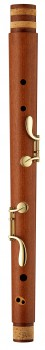 middle joint bass recorder Moeck 4569 M Rottenburgh, maple stained