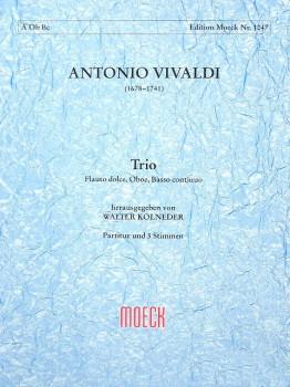 Vivaldi, Antonio - Trio g-moll RV 103 - Altblockflöte, Oboe und Bc.