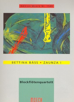 Bäss, Bettina - Zaunza 1 - SATB