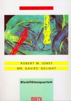 Jones, Robert W. - Mr. Davies' Delight - SATB