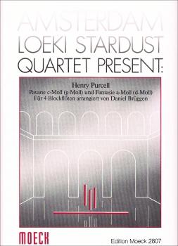 Purcell, Henry (Hrg. Daniel Brüggen) - Pavane und Fantasie - AAAB / ATBGb