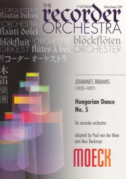 Brahms, Johannes - Ungarischer Tanz Nr. 5 - TTBBBGbSb