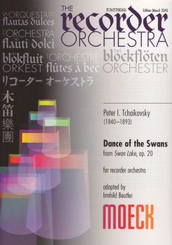 Tschaikowski, Peter I. - Dance of the swans - Blockflötenorchester