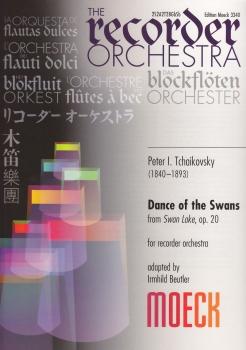 Tschaikowski, Peter I. - Dance of the swans - Blockflötenorchester