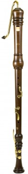 bass recorder Moeck 4521 Rottenburgh, maple stained