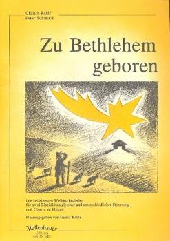 Zu Bethlehem geboren - 2 Sopranblockflöten