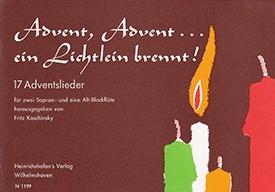 Advent, Advent... ein Lichtlein brennt! - SSA