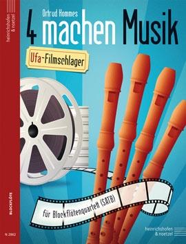 Vier machen Musik - UFA Filmschlager - SATB