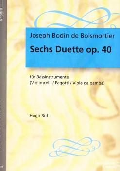 Boismortier, Joseph Bodin de - Sechs Suiten op. 17 -  Band 1 - 2 Altblockflöten