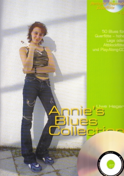 Heger, Uwe - Annie's Blues Collection - Altblockflöte + CD