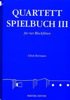Herrmann, Ulrich (Hrg.) - Quartett-Spielbuch III - SATB / AATB / ATTB / SSAT
