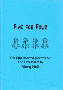 Hall, Marg - Five for Four - SATB