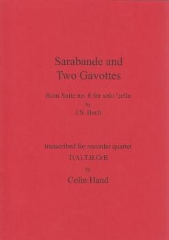Händel, Georg Friedrich - Sarabande and two Gavottes - TTBGb