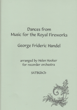 Händel, Georg Friedrich - Dances from Music for the Royal Fireworks - SATBGbSb