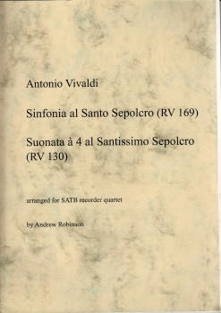Vivaldi, Antonio - Sinfonia und Suonata  - SATB