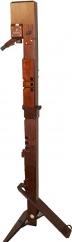 great bass recorder Paetzold by Kunath laminated birch, stained