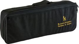 recorderbag for Paetzold greatbass, black