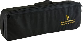 bag for Paetzold Contrabass-Recorder, black