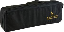Flötentasche für Paetzold Kontrabass, schwarz