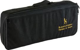 Flötentasche für Paetzold Bassblockflöte, schwarz