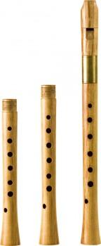 Sopranblockflöte<br>Yoav Ran<br>Modell Ganassi<br>442/415/466 Hz, Ahorn