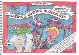 Voss, Richard - Meine lustige Blockflöte - (barock) Heft 1