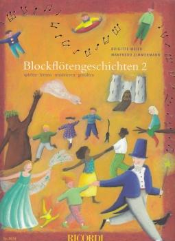 Meier/Zimmermann - Blockflötengeschichten - Schule Band 2