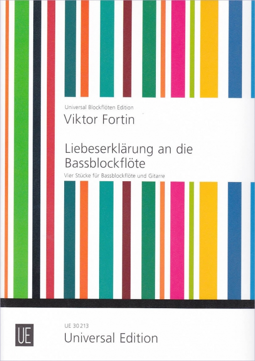 Fortin, Viktor - Liebeserklärung an die Bassblockflöte - Bass und Gitarre