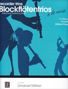 Ensemble Dreiklang Berlin (Hrg.) - La Paloma / Carmela / Albeniz - SAB