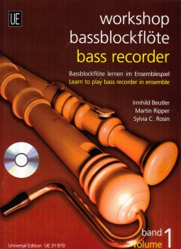 Ensemble Dreiklang - Workshop Bassblockflöte Vol.1 - (mit CD)
