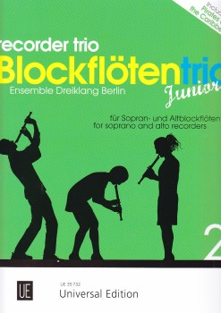 Blockflötentrio Junior 2 - SSA / SAA
