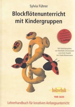 Führer/Zimmermann - Blockflötenunterricht mit Kindergruppen -