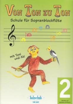 Zahner, Eva-Maria - Von Ton zu Ton -  Band 2