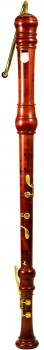 bass recorder Yamaha YRB-61, maple stained