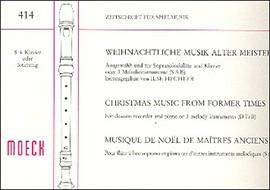 Weihnachtliche Musik alter Meister - SAB oder S/Klv