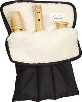 Flötentasche für Tenor/Voice oder Sopran-u. Altblockflöte