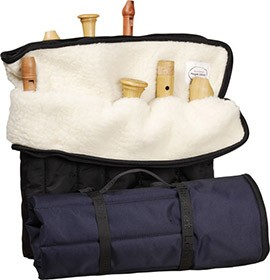 Roll Bag With Nine Slots, blue