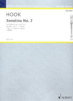 Hook, James - Sonatine C-dur - Altblockflöte und Klavier