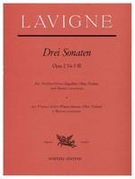 Lavigne, Philibert de - Drei Sonaten op. 2 / 1-3 - Altblockflöte und Basso continuo