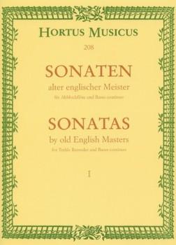 Sonaten alter englischer Meister - Heft 1 Altblockflöte und Basso continuo