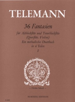 Telemann, Georg Philipp - 36 Fantasien -  Heft 1 AT